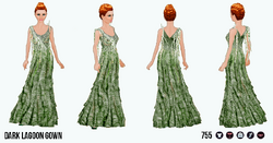 MonsterBash - Dark Lagoon Gown