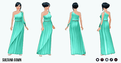 Princess - Sultana Gown