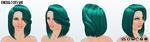 StPatricksDay - Emerald City Wig