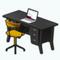 ModernOfficeSpaceDecor - Retro Modern Desk