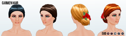 BarcelonaNightsSpin - Carmen Hair