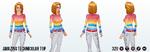 GameNight - Amazing Technicolor Top