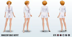 AprilFools - Innocent Dove Outfit