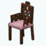 ChineseNewYearSpin - Pink Dynasty Chair