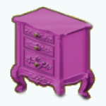 FashionBloggerSpin - Hot Pink End Table