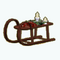 DeckTheHallsDecor - Sleigh Coffee Table