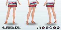 RivieraEscape - Huarache Sandals