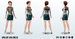 RestaurantWeek - Opulent Mini Dress