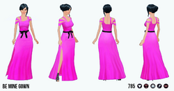 ValentinesDaySpreeSpin - Be Mine Gown