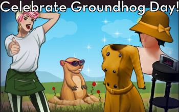 BannerCrafting - GroundhogDay