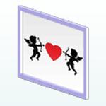 ValentinesDayDecor - Cupid Heart Art