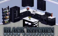BannerDecor - BlackKitchen