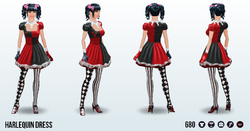 ClownCompetition - Harlequin Dress