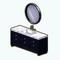 BathroomRemodelDecor - Black Sink with Marble Top