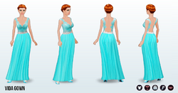 PrettyInPastel - Vida Gown