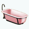 ModernNordicBathroomDecor - Metal Bars Bathtub