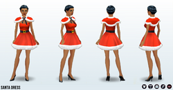 HolidayParty - Santa Dress