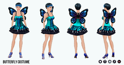 HalloweenHaunt - Butterfly Costume