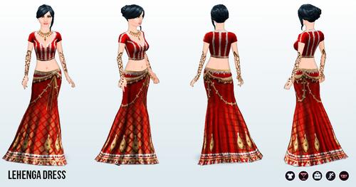 ArabianNights - Lehenga Dress