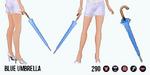 AprilShowers - Blue Umbrella