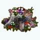 EarthDay - Tree Stump Garden
