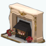TheVault - Poinsettia Fireplace