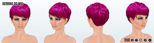 DareDay - Derring Do Wig