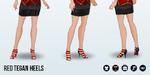 PresidentsDay - Red Tegan Heels