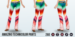 GameNight - Amazing Technicolor Pants