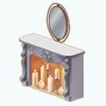 RomanticFallBedroomDecor - Romantic Fireplace