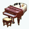 HighclereCastleDecor - Edwardian Grand Piano