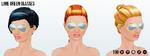 CincoDeMayo - Lime Green Glasses