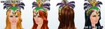 MardiGras - Mardi Gras Headpiece