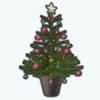 VintageChristmasSpin - Mini Christmas Tree
