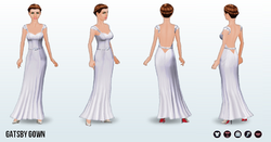 SummerWedding - Gatsby Gown