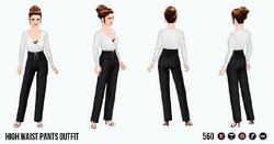 ReturnOfTheWaist - High Waist Pants Outfit