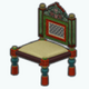 MusicOfIndia - Traditional Indian Chair