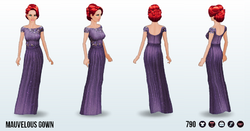 SummerRomanceSpin - Mauvelous Gown