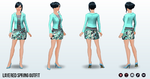 SpringIsComing - Layered Spring Outfit