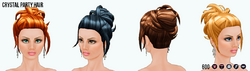 YourYearToSparkle - Crystal Party Hair