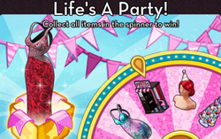 BannerSpinner - PartySpree