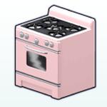 ValentinesDayDecor - Pink Retro Oven