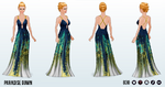 TropicalParadiseSpin - Paradise Gown