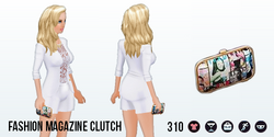 FashionForecast - Fashion Magazine Clutch