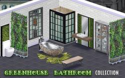BannerDecor - GreenhouseBathroom