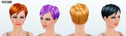 TomboyChicSpin - Pixie Hair