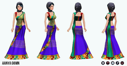 AroundTheWorld - Aanya Gown