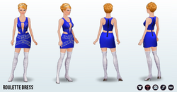 EscapeToVegas - Roulette Dress
