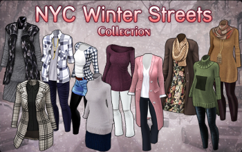 BannerCollection - NYCWinterStreets