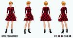 HarvestSpin - Apple Picking Dress